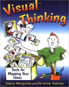Libro sobre visualthinking con diccionario visual y plantillas visuales aplicables al aula