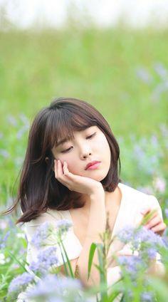 -Ahn Hyungseob girl edited- Just if Ahn Hyungseob were a girl. Iu Short Hair, Short Hair Styles, Korean Beauty, Asian Beauty, Korean Girl, Asian Girl, Oppa Gangnam Style, Iu Fashion, Fashion Outfits