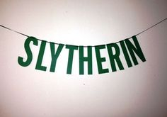This banner to flaunt a little extra Slytherin pride. | Community Post: 12 Things All Slytherins Will Need In 2016