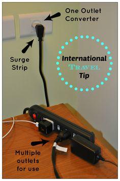 International Travel Tip- I do that here, now I feel smart hehe