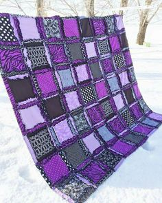 I WOULD LOVE TO HAVE A PATCH WORKED PURPLE BLANKET!!!!