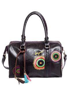 Desigual Handtasche aus weichem Lederimitat. Gr. ca. B/H/T 29/23,5/10 cm....