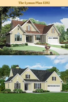 An updated look for The Lyman plan 1292! #WeDesignDreams #DonGardnerArchitects
