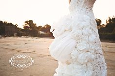 Toilet paper wedding dress...not even kidding