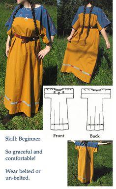 A Sun Dress Pattern Honoring Native American Crops