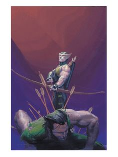 Hawkeye and Wolverine - Esad Ribic