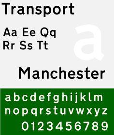 Font Transport Specimen Sample selection: www.rotterdam-vormgeving.nl