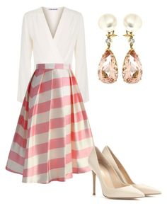 """""""Без названия #2590"""" by claire-hamilton-bristol ❤ liked on Polyvore featuring Elizabeth and James, Chicwish, Gianvito Rossi and Valentin Magro"""
