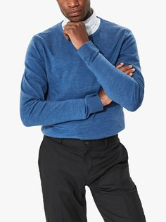 Men's Clothing- Shop the latest range of men's designer clothing with Evolve Clothing. Shop now and get express worldwide delivery. Evolve Clothing, The Selection, Latest Fashion, Crew Neck, Men Sweater, Footwear, Clothes For Women, Trending Outfits, Sweaters