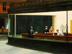 Nighthawks -- Edward Hopper
