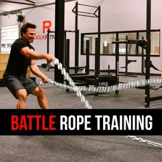 Battle Rope Exercises to increase strength and stamina.