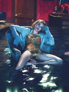 Natalia Vodianova by Mert & Marcus for W Magazine December 2012