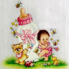 Картинки по запросу pintura em tecido bebe