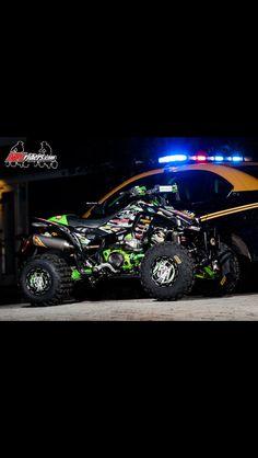 Adam McGill Heartland Challenge Honda Trx 450.   So niceeeee