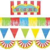 Carnival Outdoor Party Giant Decorating Kit 5pc -Decorating Kits -Birthday Decorations -Boys Birthday -Birthday Party Supplies - Party City