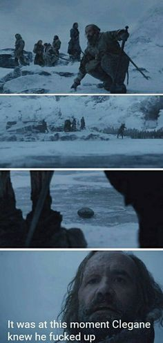 This moment, Game of Thrones.