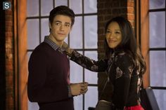 And again...this is exactly why I can't help but love them...he's adorably awkward, but she gets that and loves him anyway. She's obsessed with brownies and doesn't understand half of his science talk, but he gets that and loves her anyway. Their cuteness basically decrees that they MUST end up together. |Barry Allen||Iris West||CW's The Flash||TV Shows||Barry and Iris|
