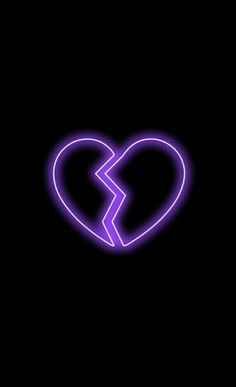 Trendy wallpapers for Android & iPhone Broken Heart Wallpaper, Purple Wallpaper Iphone, Mood Wallpaper, Wallpaper Iphone Disney, Trendy Wallpaper, Tumblr Wallpaper, Black Wallpaper, Aesthetic Iphone Wallpaper, Galaxy Wallpaper