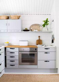 Kitchen Cabinets, Cottage, Home Decor, Future, Summer, Diy, Inspiration, Biblical Inspiration, Decoration Home