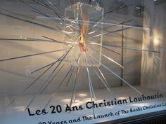 Christian Louboutin Has Taken Over the Barneys Windows