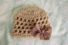 Alli Crafts: Free Pattern: Open Stitch Hat - premie, newborn and 3-month sizes