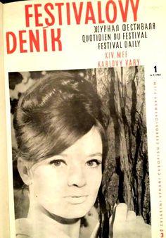 Jana Brejchová Festivalový deník 1964