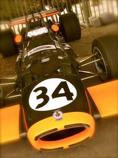1968 BRM P113 F1 Racing Car