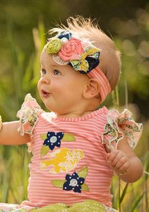 Persnickety Clothing | Infant - Cotton Candy Headband - Pink Stripe - Bo Peep #OGTBOPEEP