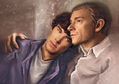 Lacuna03 by Allinor.deviantart.com on @deviantART <– I'm not a Johnlock shipper, but I this was done very well.