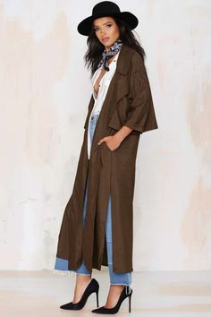 Pippa Lynn Rain Down Trench Coat - Jackets