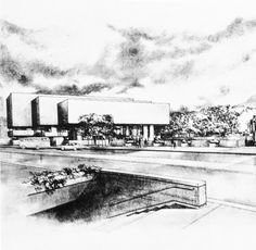 Third Prize in the Winnipeg Art Gallery Architectural Contest, 1968