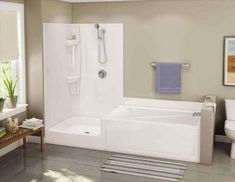 Walk In Tub And Shower Combo Twin Line Walk In Bathtub And Shower Combo Bathroom Ideas