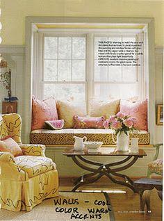 Lovely window seat...