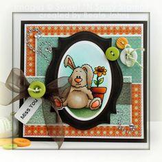 Sweet n Sassy Benjamin Bunny by Beate Johns