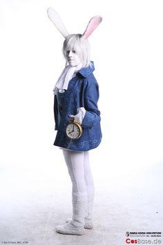 Image result for alice in wonderland white rabbit costume