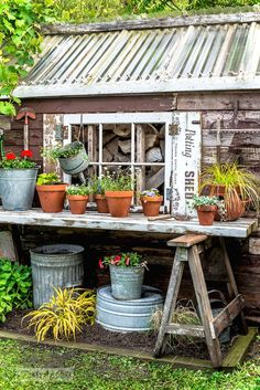 Adorable 57 Inspiring Garden Shed Ideas You Can Afford https://roomaniac.com/57-inspiring-garden-shed-ideas-can-afford/