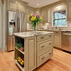 "Refrigerator Surround Design ...is a bit more ""substantial"""