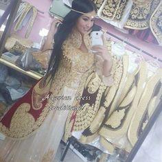 """لباس تقليدي جزائري """"القاط"""""""