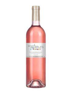 """""""Le Temps des Fleurs"""" 2015, Domaine Chiroulet  Charnu et élégant, ce rosé vineux aux notes fruités et à la belle persistance aromatique se déguste idéalement avec une salade de crudités ou avec un poisson grillé à la plancha."""