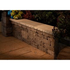 Please note: This item does not include to-the-door delivery. This item includes curbside delivery. Add versatility to your backyard or patio with. Wall Bench, Patio Wall, Wall Seating, Backyard Patio, Backyard Landscaping, Patio Seating, Extra Seating, Outdoor Walls, Outdoor Spaces