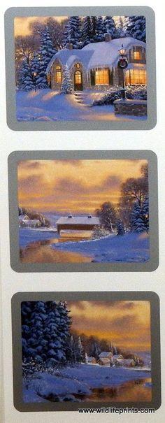 Derk Hansen Winter Scene Trilogy I