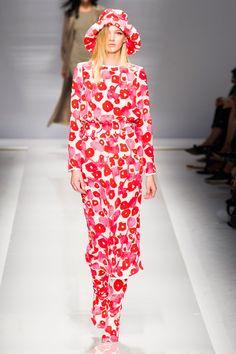 Défilé Max Mara, prêt-à-porter printemps-été 2015, Milan. #MFW #Fashionweek #runway