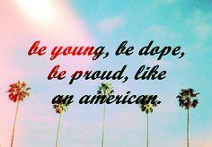 """Lana Del Rey """"American"""""""