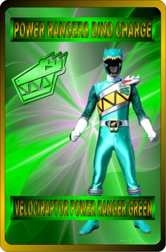 Velociraptor Power Ranger Green by rangeranime Power Rangers Morph, Power Rangers Fan Art, Power Rangers Dino, Green Power Ranger, Power Rengers, Go Busters, Little Brothers, User Profile, Cool Cards