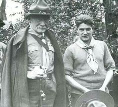 B.P. Boy Scouts, Robert Baden Powell, Wood Badge, Scout Leader, Girl Guides, Bushcraft, Knots, Hunting, Lord