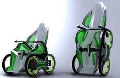 Segway-based DEKA iBot Wheelchair by David Bulfin Segway, DEKA iBot, wheelchair, Future transportation