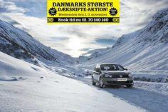 DANMARKS STØRSTE DÆKSKIFTE-AKTION: Vi skifter dine sommerhjul til vinterhjul - gratis!