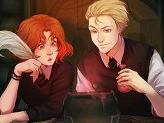 Rose et Scorpius