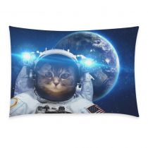 InterestPrint Sloth Astronaut Cat Nebula Galaxy Outer Space Pillowcase Standard Size 20 x 30 Inch One Side - Hipster Cat Universe Earth Planet Bling Glitter Star Pillow Case Cover Set Sham Decorative Hanging Tapestry, Hanging Wall Art, Wall Hangings, Throw Pillow Covers, Throw Pillows, Hipster Cat, Cat Mouse, Christmas Gifts For Girls, Space Cat