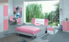 My aldost dauhghters room. She is 10 and youngest daughter is 5 and son is 1 year old